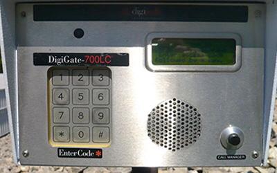 DigiGate security keypad